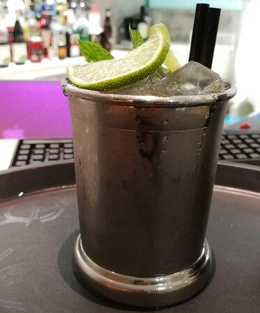 Il nostro Moscow Mule, cocktail molto diffuso sia in aperitivo che in dopocena.