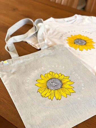 Sunflower Logo Totes Bags & Tshirt