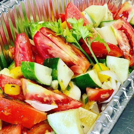 Pizzazz Chef Garden Salad @pizzazzfusionja