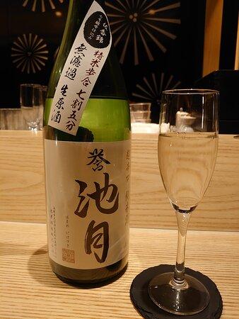 20.04【米子さっかどう】誉池月 超辛口純米 佐香錦 無濾過生原酒