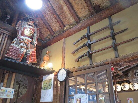鎧や火縄銃まで展示