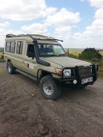Amboseli National Park, Kenia: our safari jeep