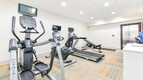 Warm up in our fitness center before hiking in the Smoky Mountains