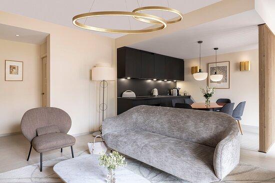 Maison Ava Gardner Living Area
