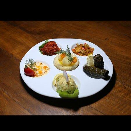 Meze Tabağı.. Appetizer Plate..