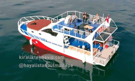 Istanbul, Turkey: Hayal İstanbul Maltepe gezi teknesi genel görünüş
