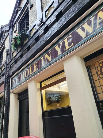 Ye Hole In Ye Wall Pub in Liverpool Commercial District