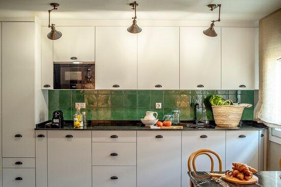 Cocina Apartamento dos Habitaciones