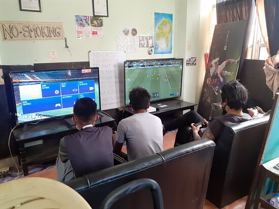 Mirage gaming house playstation xbox game zone video kathmandu nepal #kathmandu #nepal #playstation #ps4 #game #xbox #games #play #fifa #gaming #videogames #gamer #football #soccer  Don't call. Message only, just send message directly in viber, WhatsApp or message us in our facebook page.