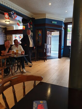 The Denbigh Castle Pub in Liverpool Buisness District