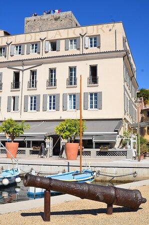 le restaurant et l'hôtel