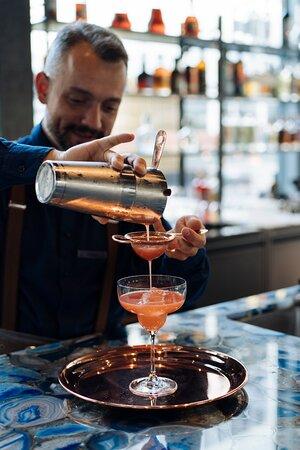 Seasonal cocktail creations at Bar Iris