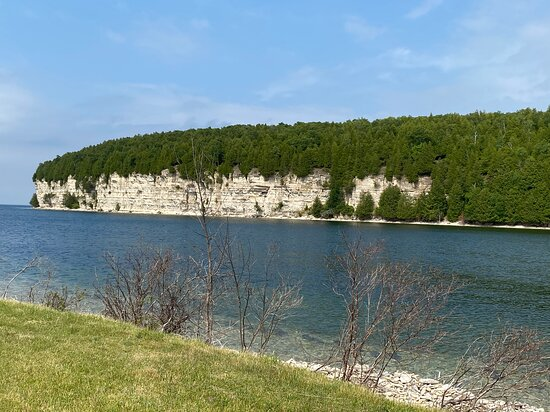 Limestone Cliff from the trail