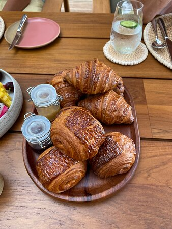 buttery crisp and flaky pastries