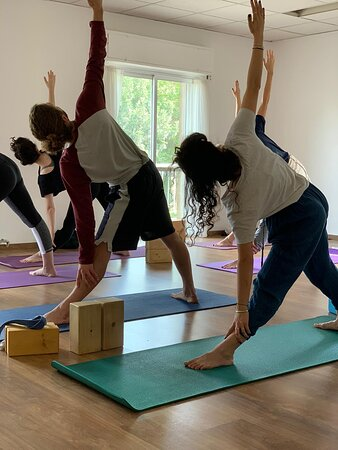 Yoga Class at YogaPoint JLM