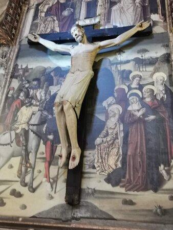Cristo de Oña, talla románica del siglo XII.