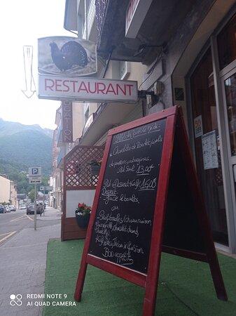 Entrée du restaurant