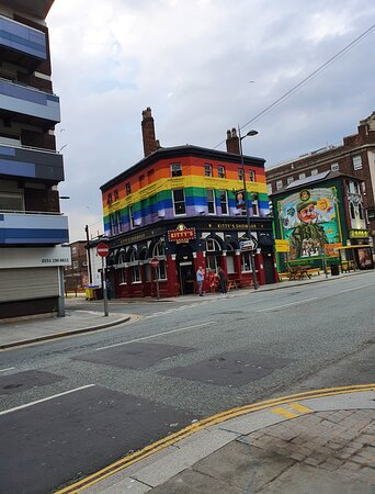 Kitty's Showbar in Liverpool Buisness District