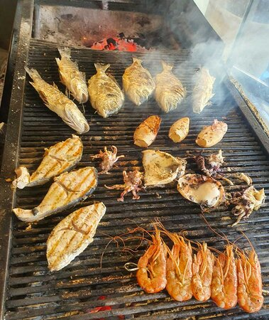 Fish and Seafood on the grill !