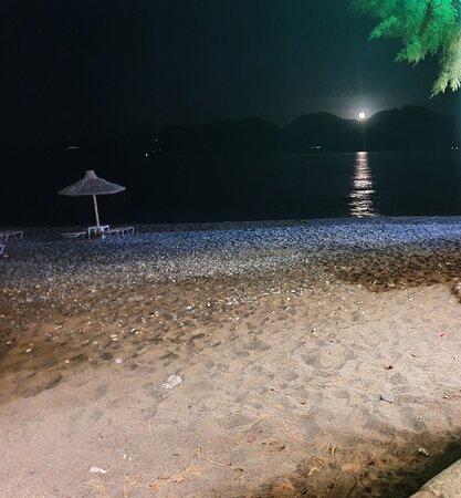 Moonlight on water ~ Kitroplateia beach