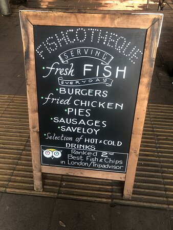 Best quality fish and chip restaurant shop