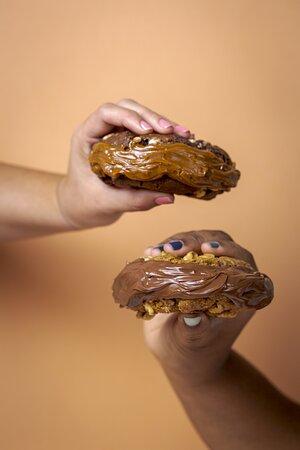 Sanduíche de Cookie