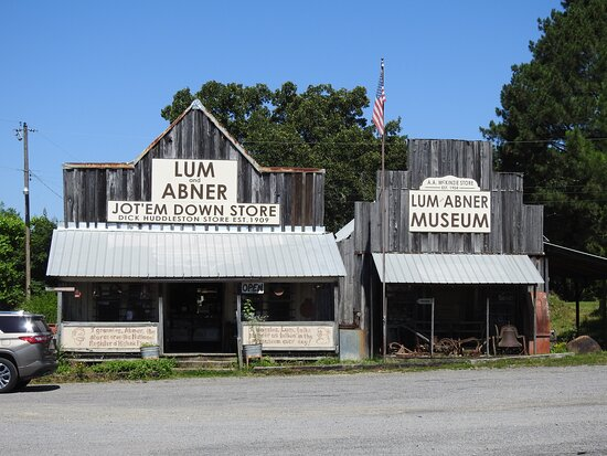 The store and museum