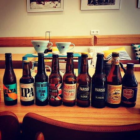 selection de bières de qualité
