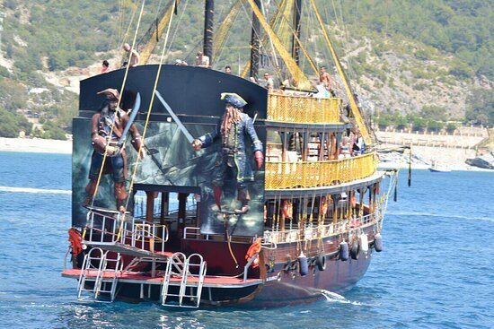 Alanya, Tyrkiet: Super boat tour