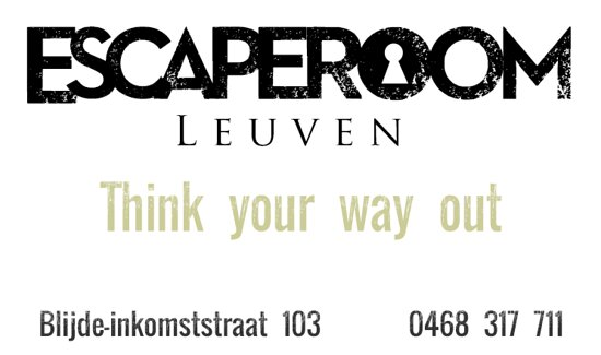 Escape Room Leuven