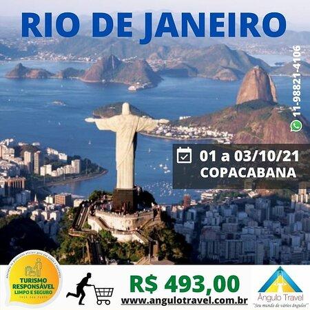 Excursão Rio de Janeiro  Ainda tem algumas vagas