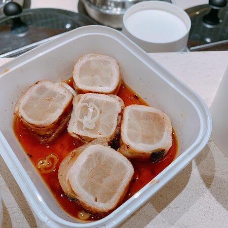 豚肉大根卷醬油燒