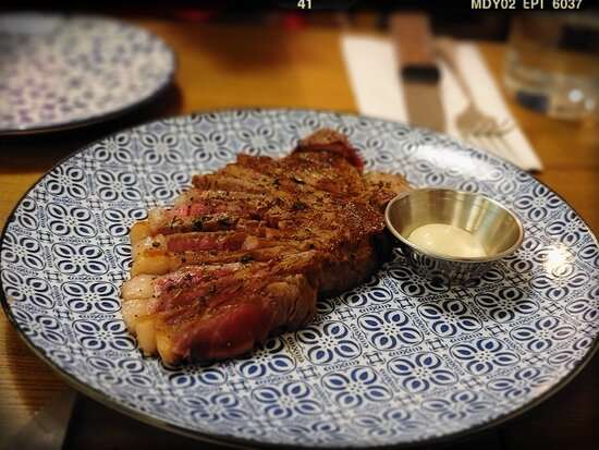 """Told to be """"60 Days Dry Aged Beef Striploin ($208)"""" when asked"""