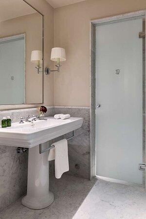 Small Double bathroom
