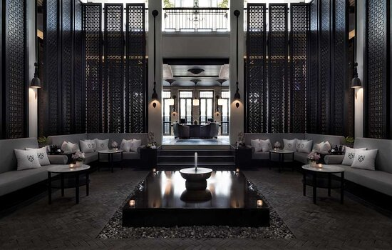 The Siam Opium Spa amp Wellbeing Reception