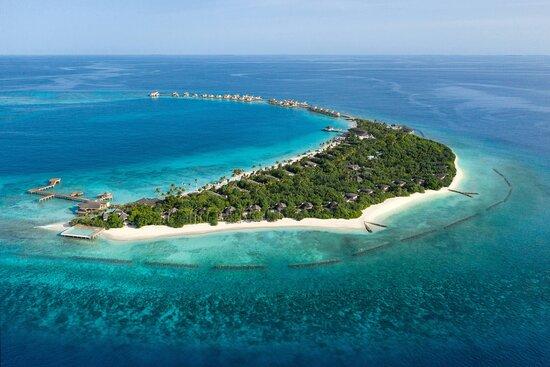 JW Marriott Maldives Resort & Spa - Aerial View