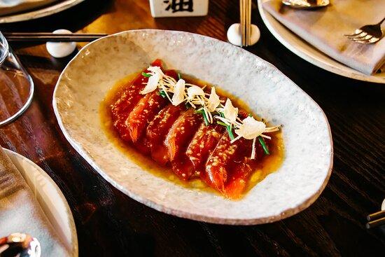 Thinly Sliced Tuna Truffle Ponzu Easy Resizecom