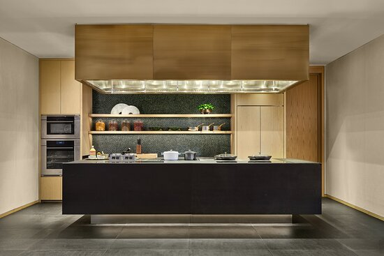Rosewood Guangzhou Mansion Kitchen Area
