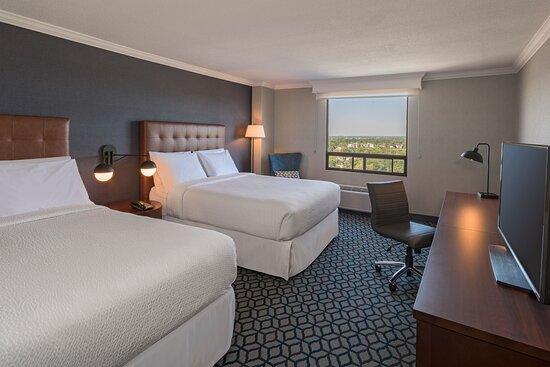 Queen/Queen City View Guest Room