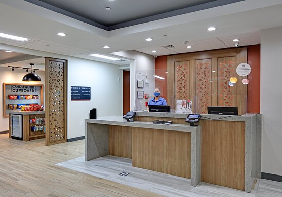 Stop by the front desk anytime at the Candlewood Suites