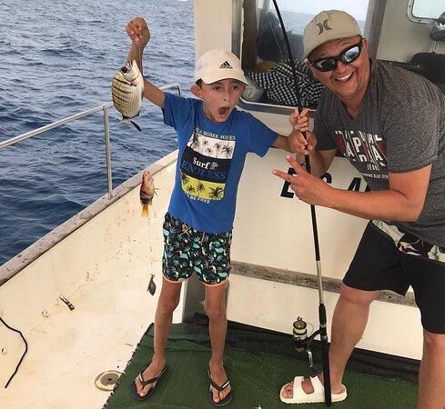 Excursión de Pescaturismo en Mahón con el pescador José Pons