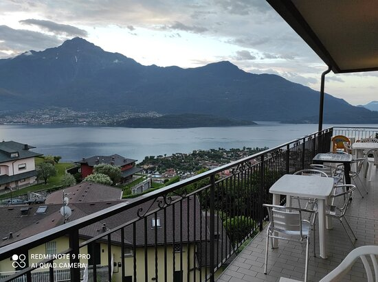 Vercana, Italy: Questa è la vista dalla terrazza