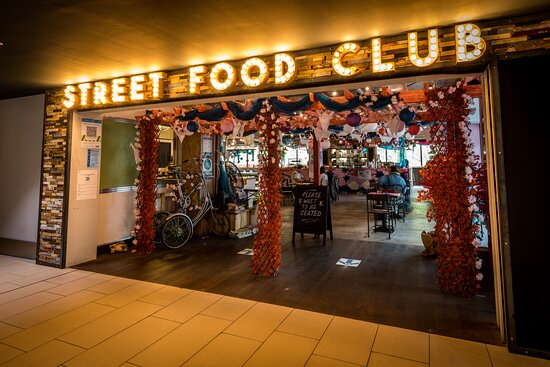 Street Food Club at Victoria Centre, Nottingham