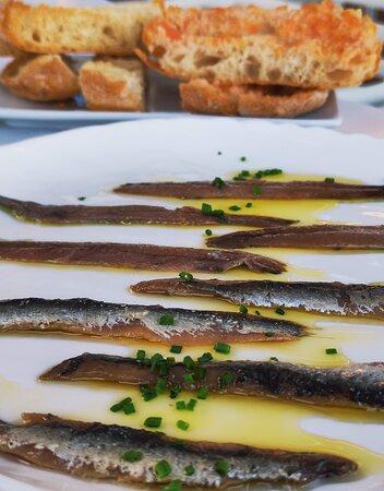 Pa, tomàquet y anchoas