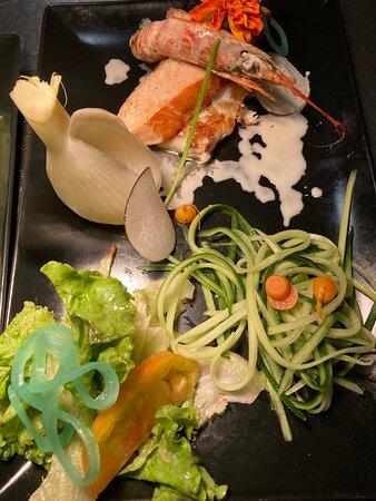 Parillada de Poisson pickles de légumes