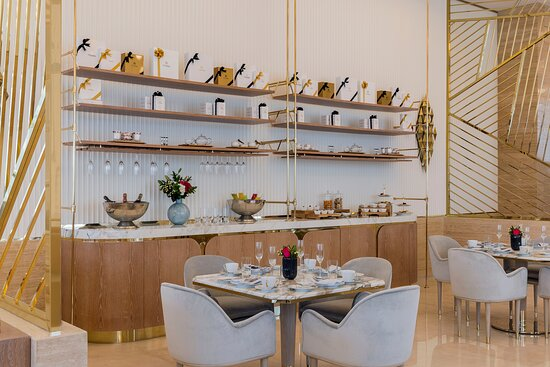 Our daily live station adds to the afternoon tea experience at Her by Caroline Astor