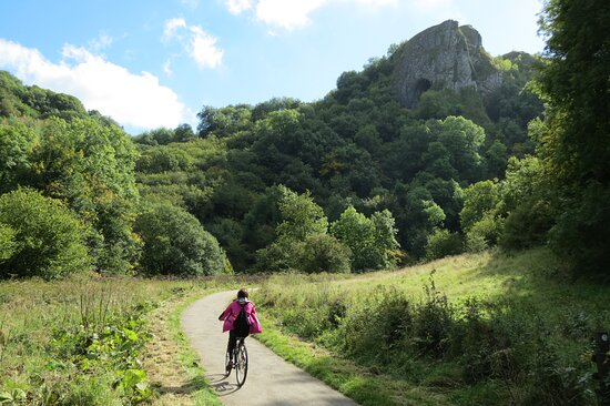 Swainsley Farm: borrow our bikes to explore the Manifold Trail.