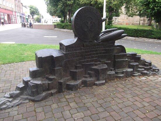 John Bonham Memorial Statue
