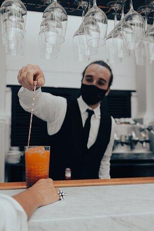 Restaurante Za'atar en el Hotel Born (Palma de Mallorca)