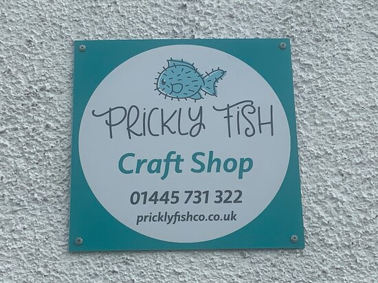 The Prickly fish logo.
